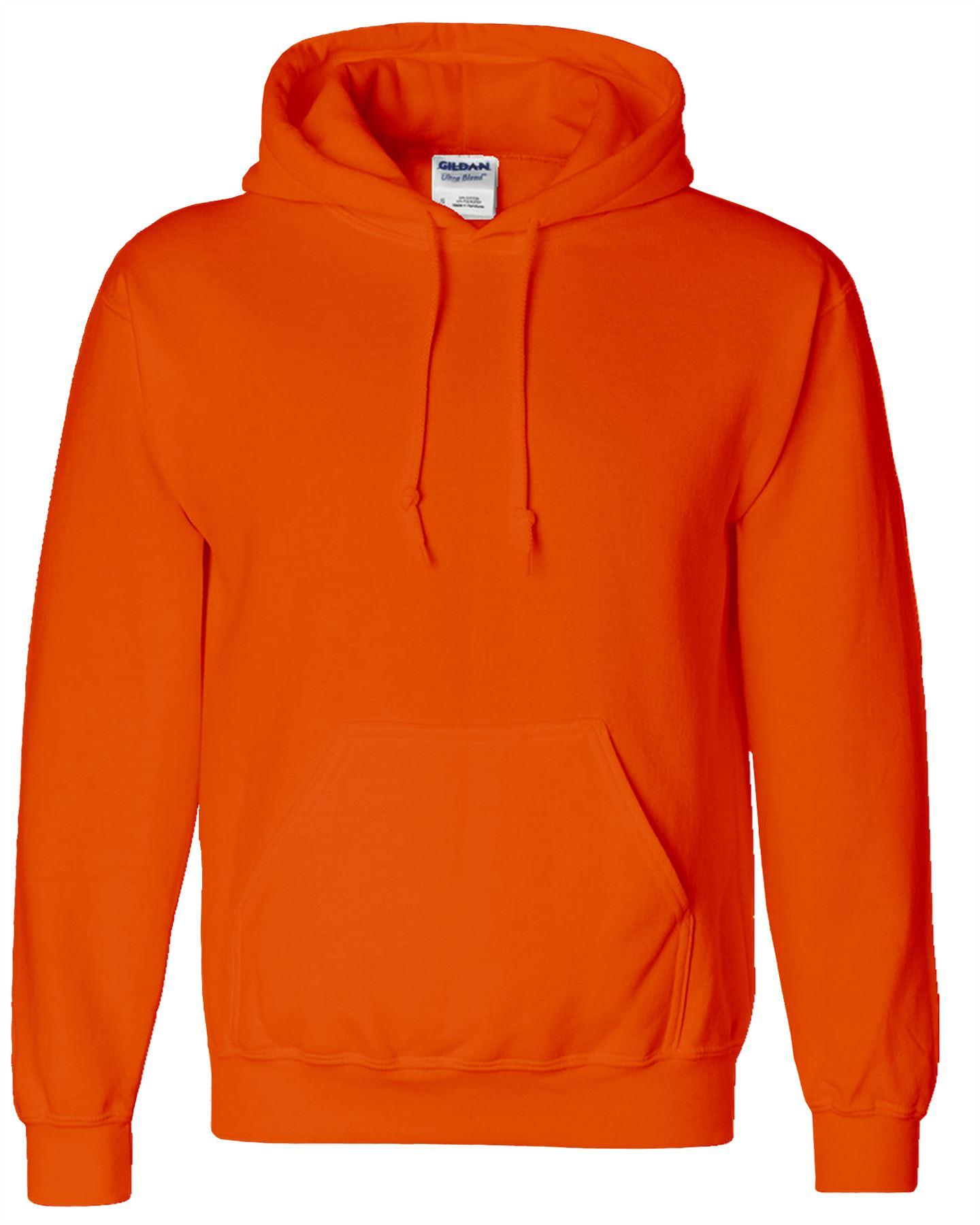 New Gildan Heavy Blend Plain Hooded SweatShirt Hoodie Sweat Hoody Jumper