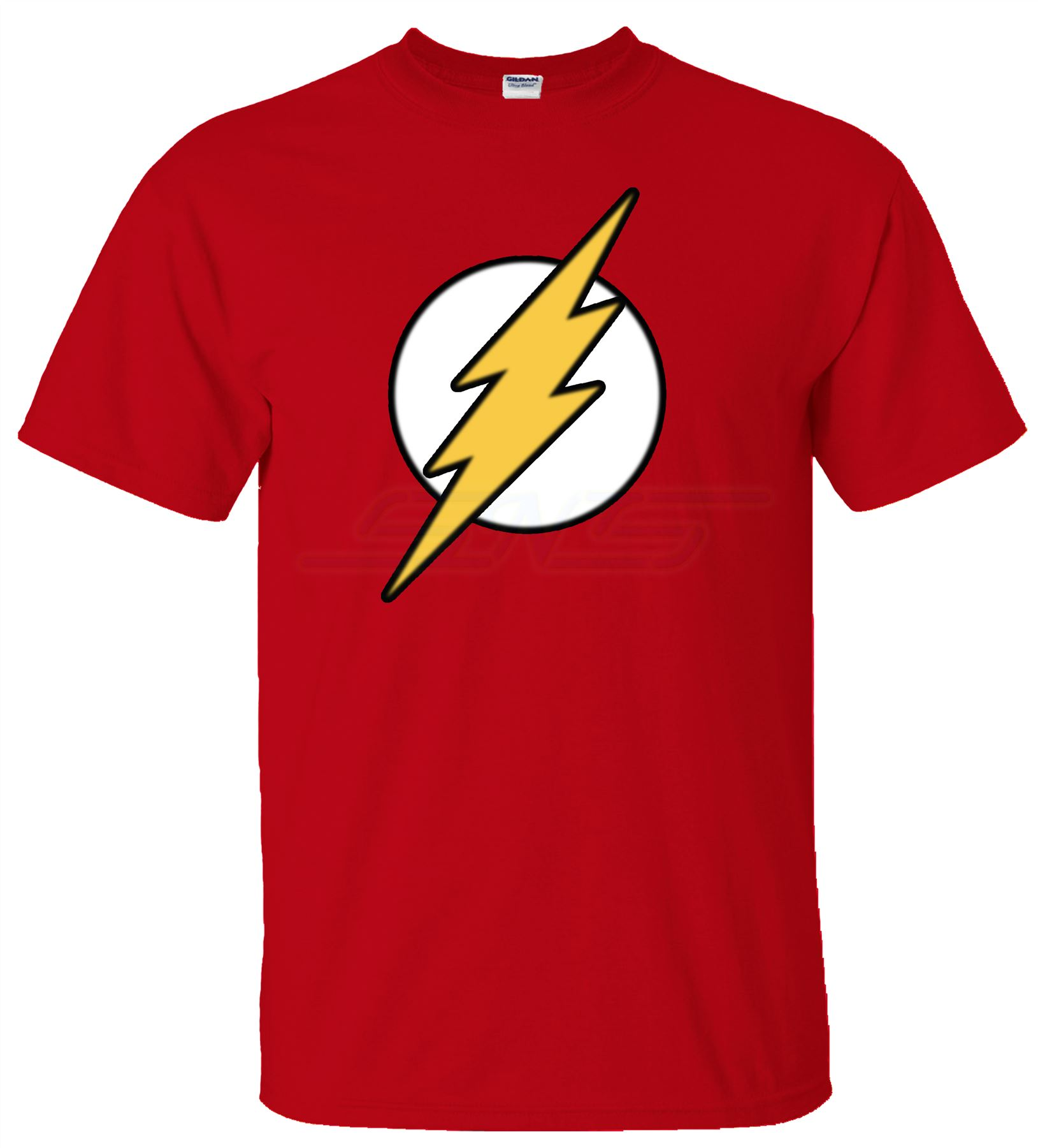 Mens boy unisex flash super hero bazinga t shirt tee top t Boys superhero t shirts