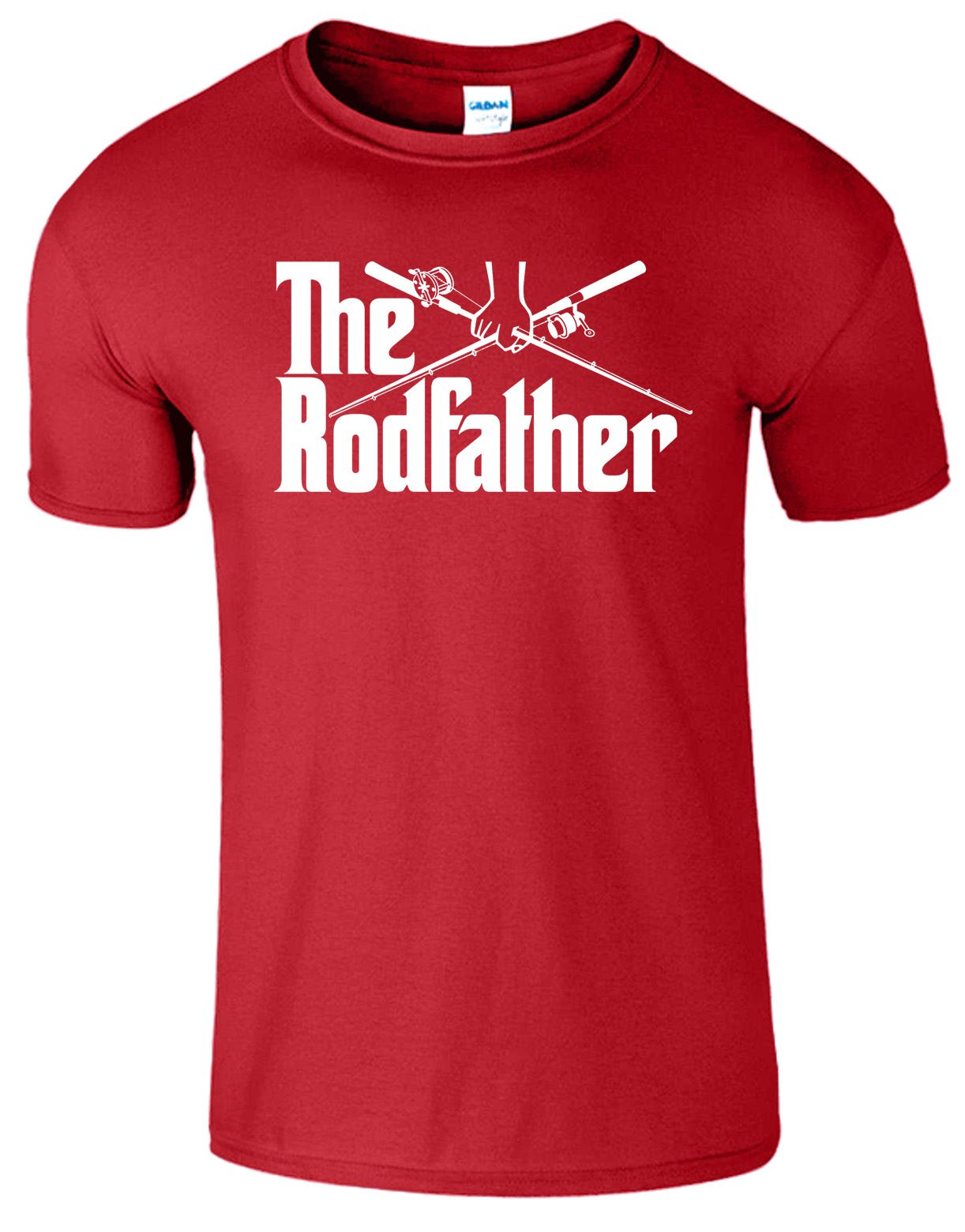 The rod father kids tshirt funny fishing rod reel for Best fishing shirts men