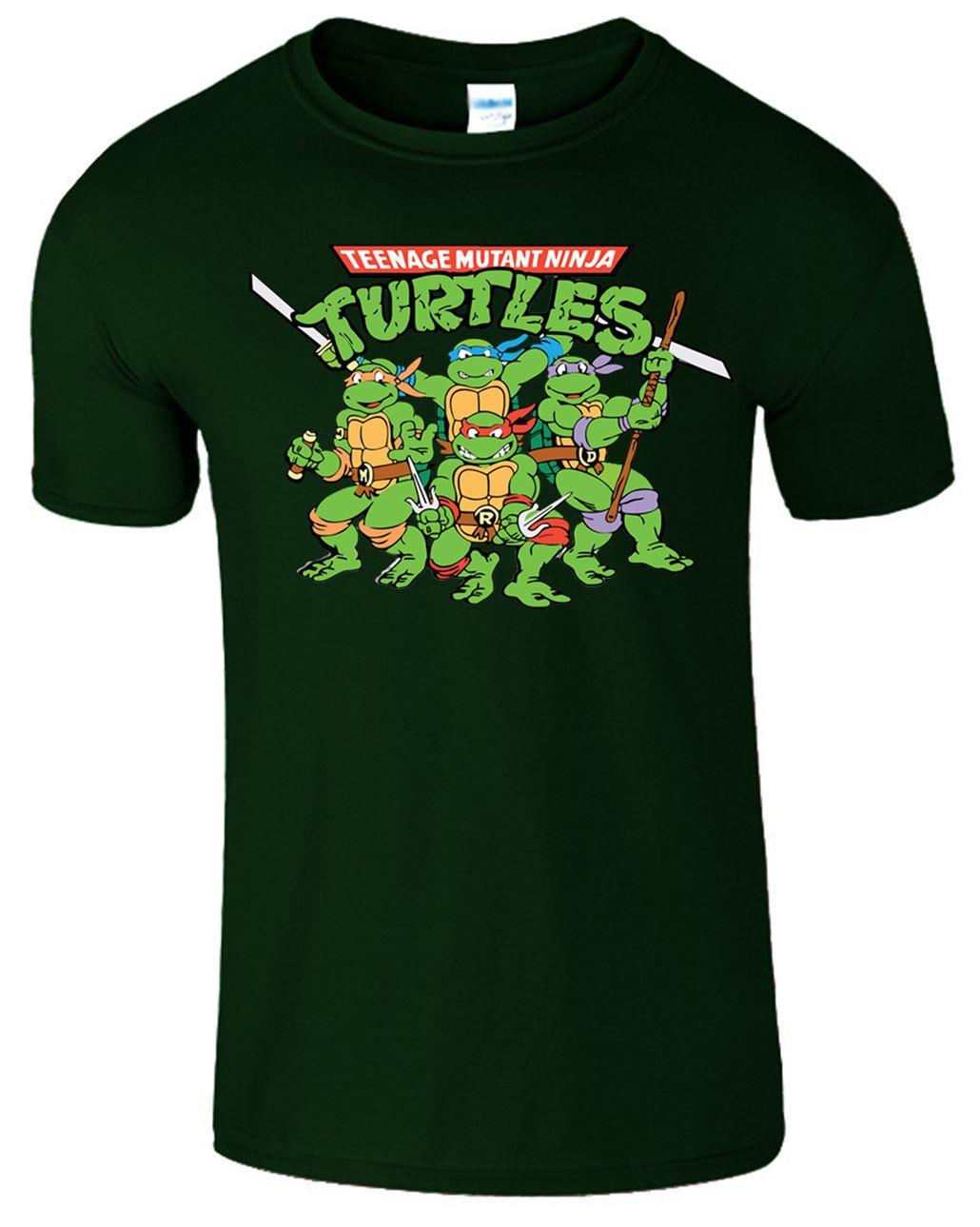 Teenage Mutant Ninja Turtles Mens T Shirt Tmnt Retro 90 39 S