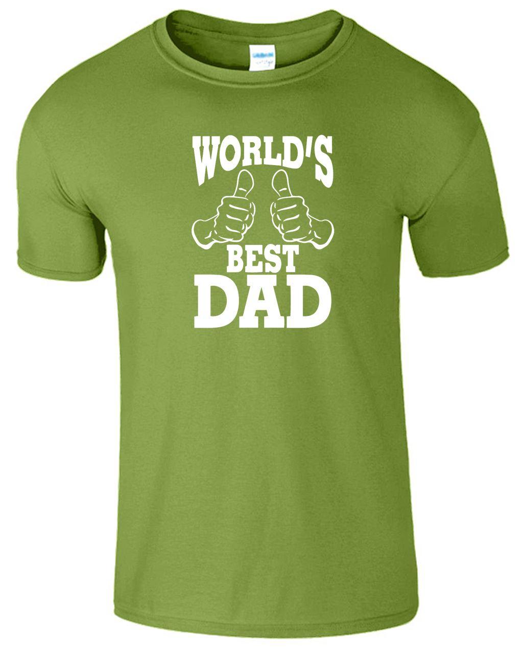 new nice world best dad t shirt design man woman uni xxl l