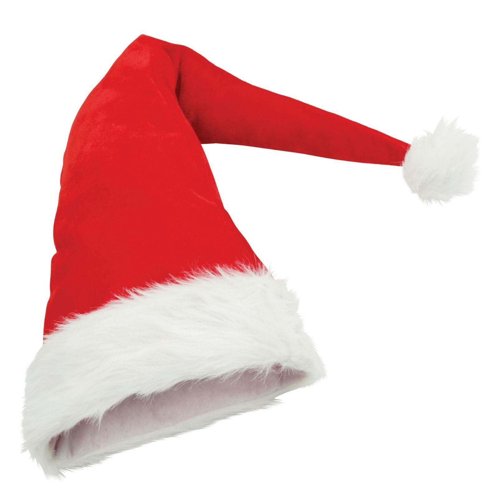 Christmas santa hats mens women elf fancy party funny