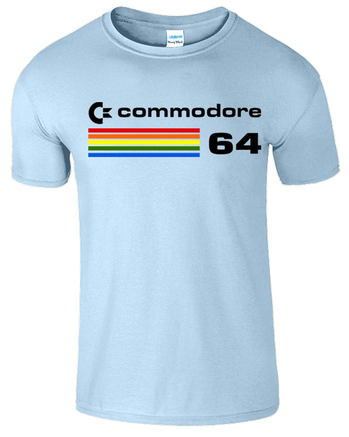 Commodore 64 mens computer t shirt retro 80s video game t for Game t shirts uk