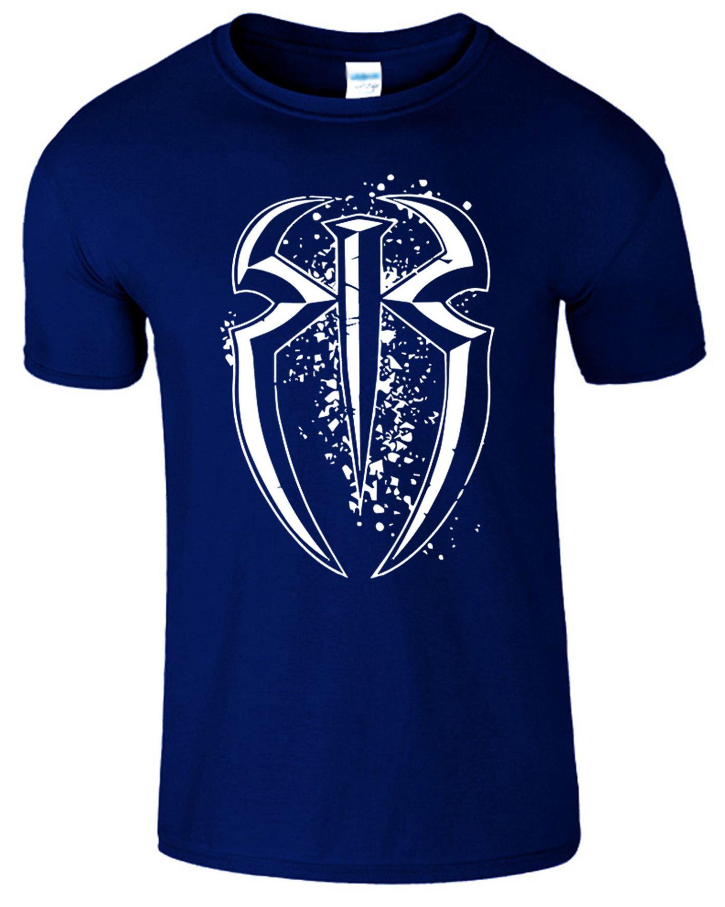 roman reigns wwe wrestling spear logo kids gift t shirt. Black Bedroom Furniture Sets. Home Design Ideas