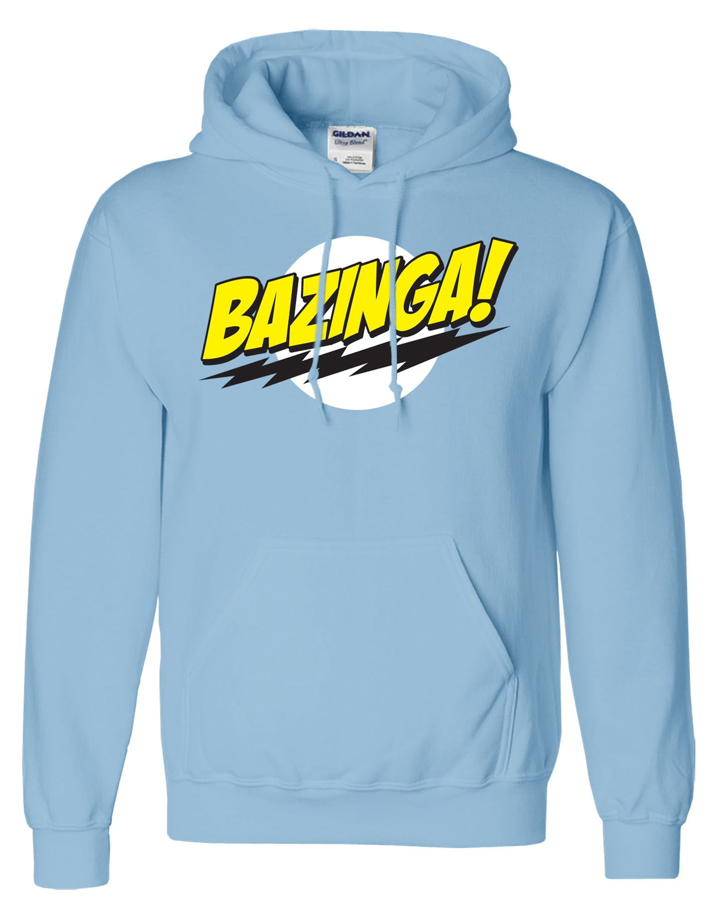 Mens-Bazinga-Hoodie-Hooded-Sweatshirt-Pullover-Sweat-Hoody-Jumper-Sports-Casual