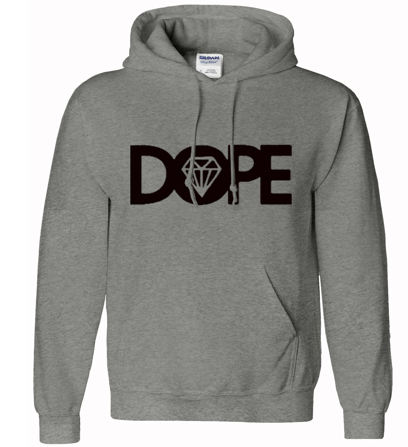 Men-Boy-Dope-Hoodie-Hooded-Sweatshirt-Pullover-Diamond-Hoody-Jumper-Sport-Casual