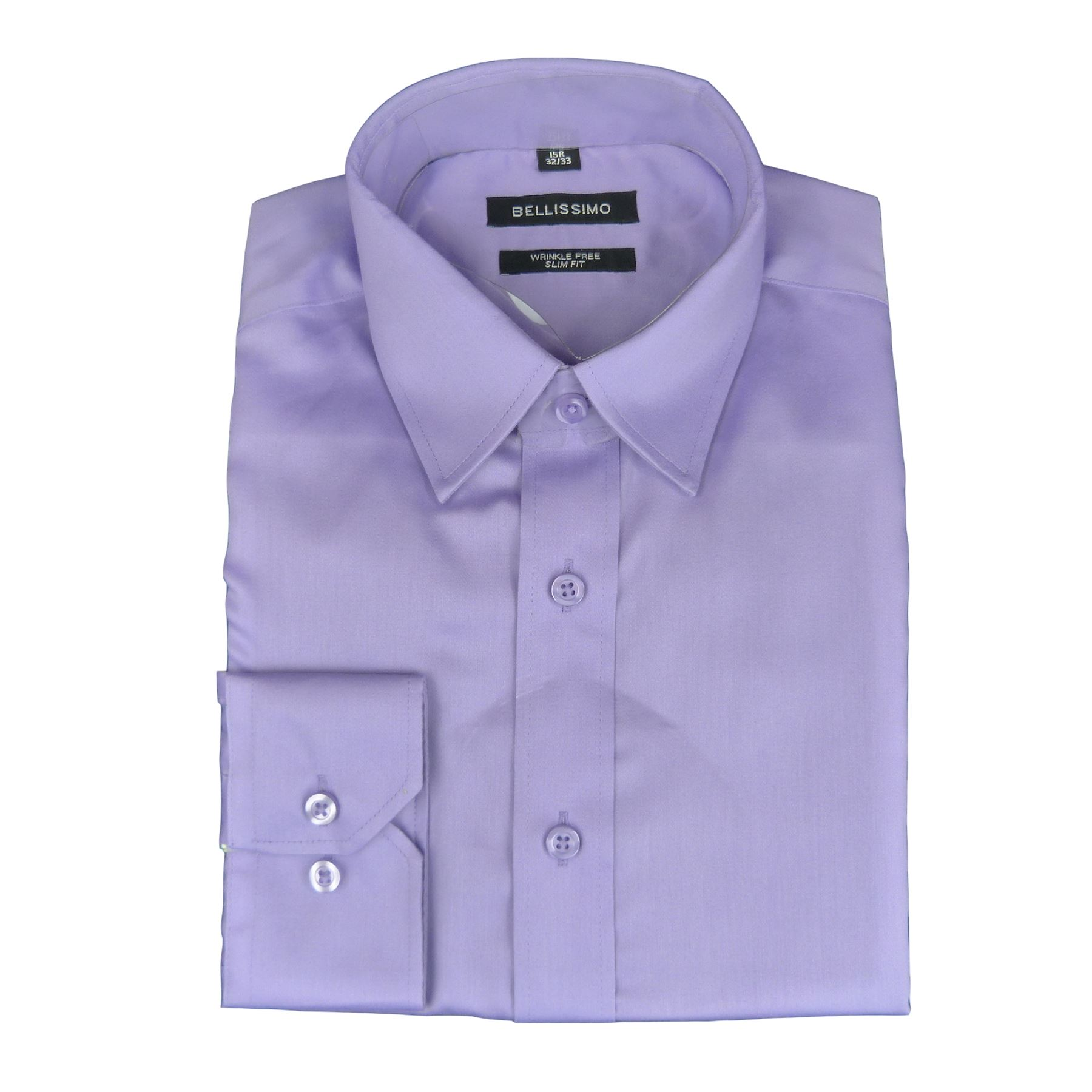 bellissimo luxury slim fit wrinkle free cotton rich shirts