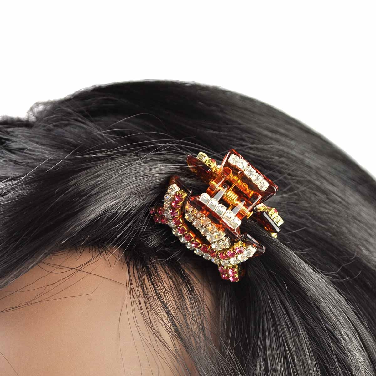 Flower-Shaped Mini Hair Claws Hair Pins Hair Clips For Girls - 10Pcs (Rando. Polytree 6pcs Mini Rhinestone Hairpin Women Girl Hair Clip Pin Claw Barrettes Accessories for Wedding. by Polytree. $ $ 3 22 ($/Gram) FREE Shipping on eligible orders. Product Features.