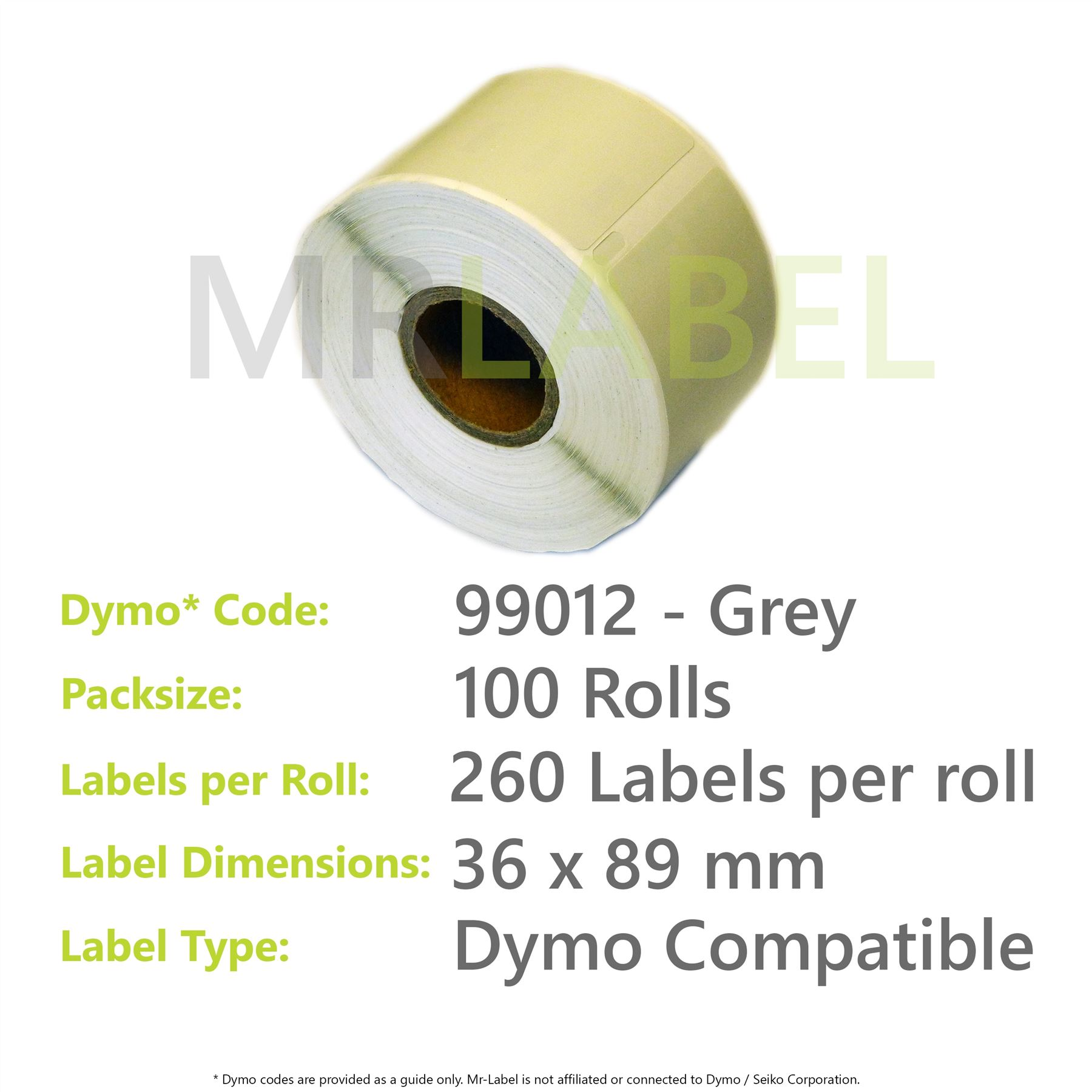 Dymo 99012 colours compatible labels fast free shipping for Dymo address label template