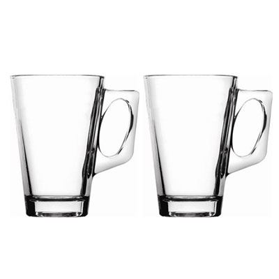 Coffee Latte Glasses Cups Mugs - 4 Styles to choose - Ideal for Coffee Machines!