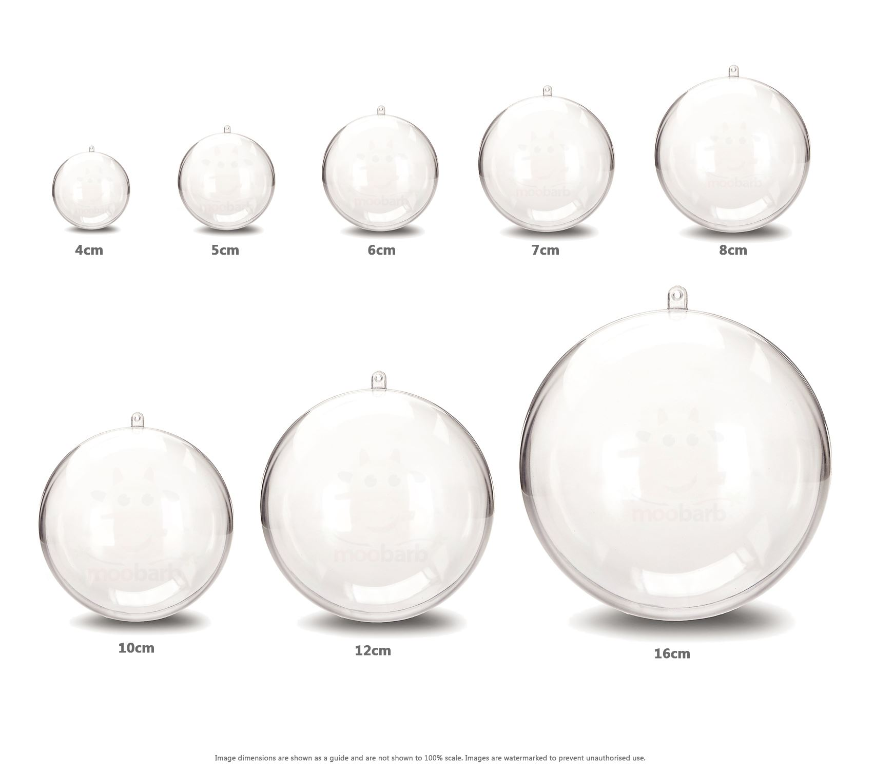 Image Result For Clear Plastic Craft Bauble Uk