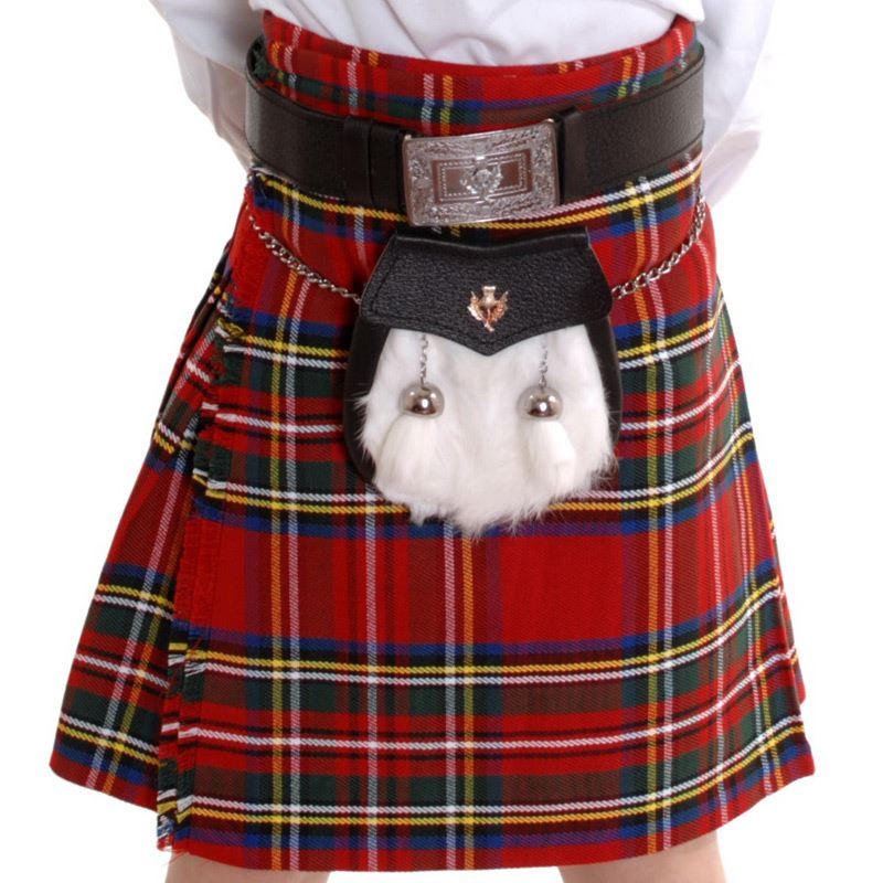 New-Boys-Red-Royal-Stewart-Tartan-Scottish-Kilt-Age-0-12-Years-16-28