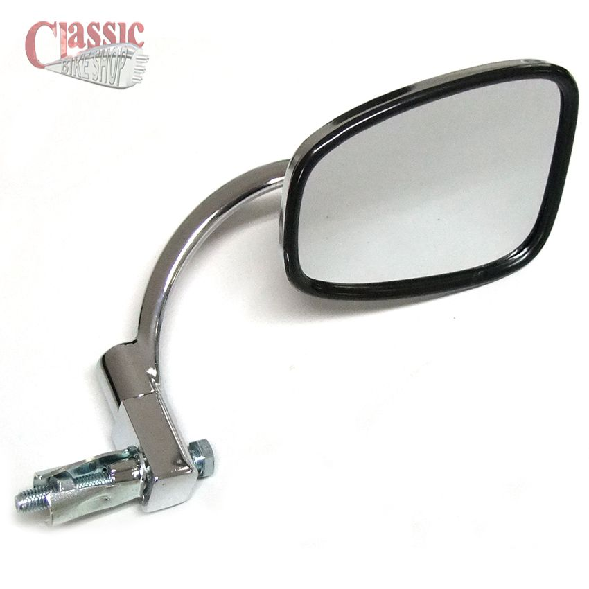 Chrome Handlebar Bar End Mirror For Vintage Classic
