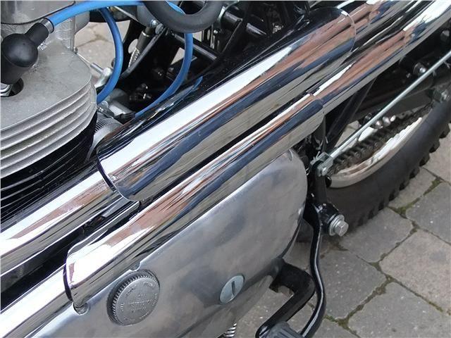 Triumph Tr6c 12 Inch Ideal Exhaust Heat Shield Ebay