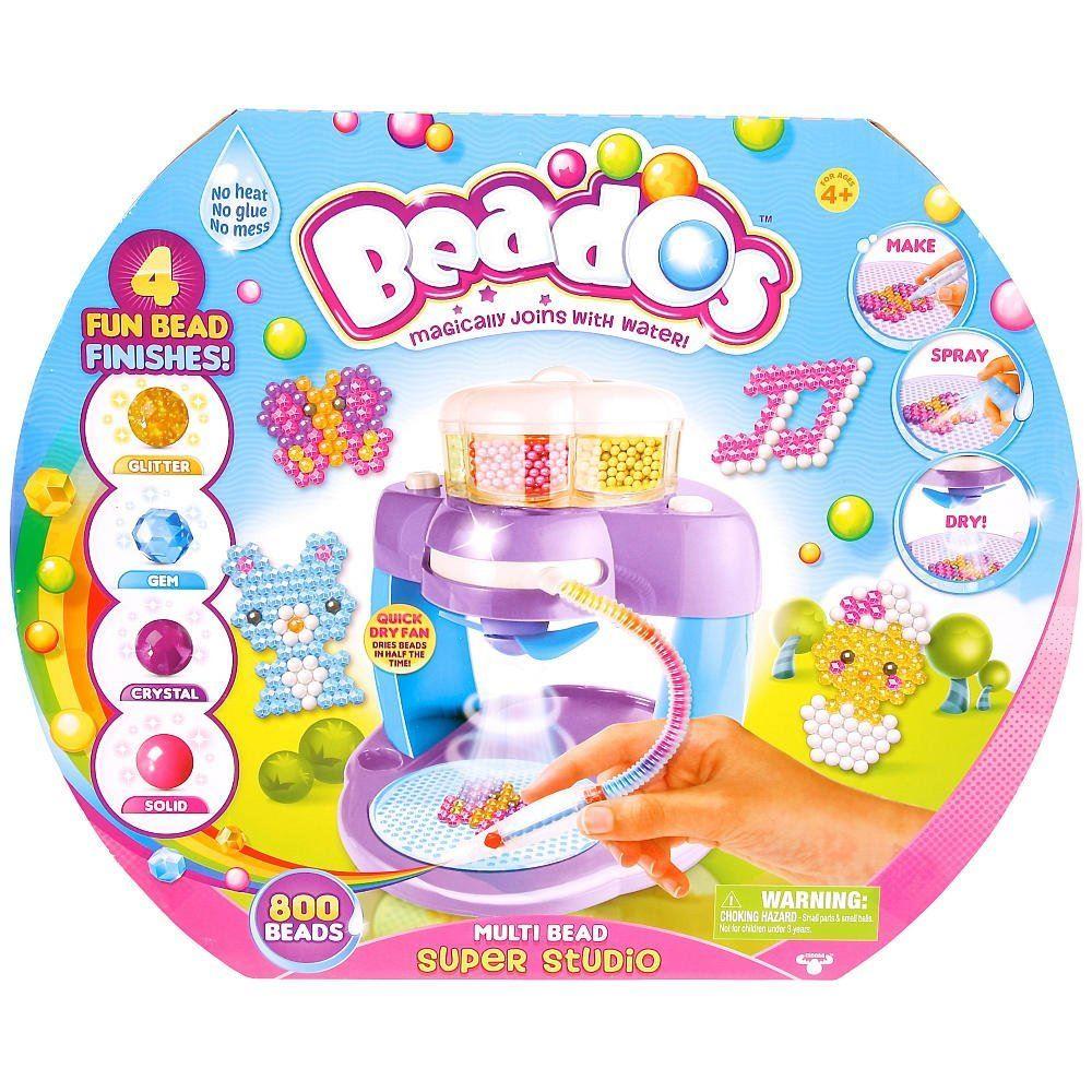 Girl Beados Toys : Beados multi bead super studio with beads ebay
