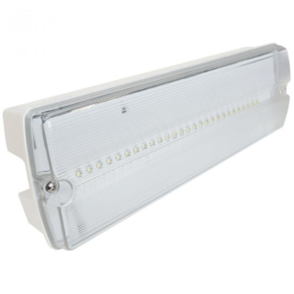 Led emergency lighting maintained non w