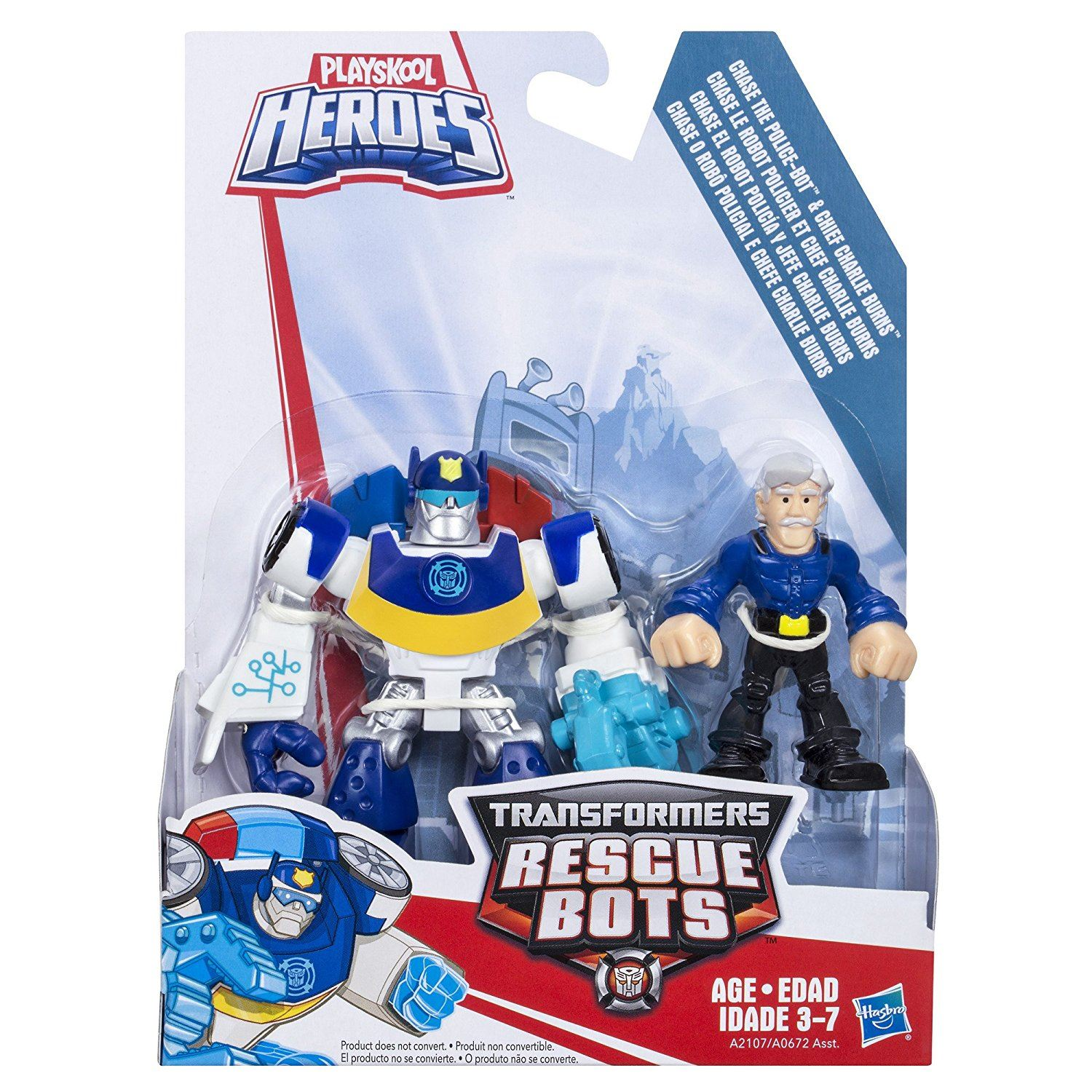 Target Transformers Toys For Boys : Playskool heroes transformers rescue bots chase the police