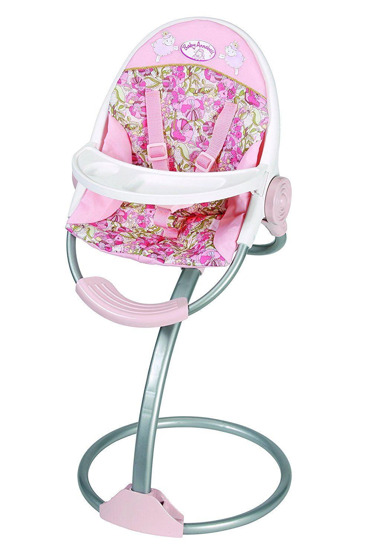 Zapf Creation My First Baby Annabell Highchair | eBay