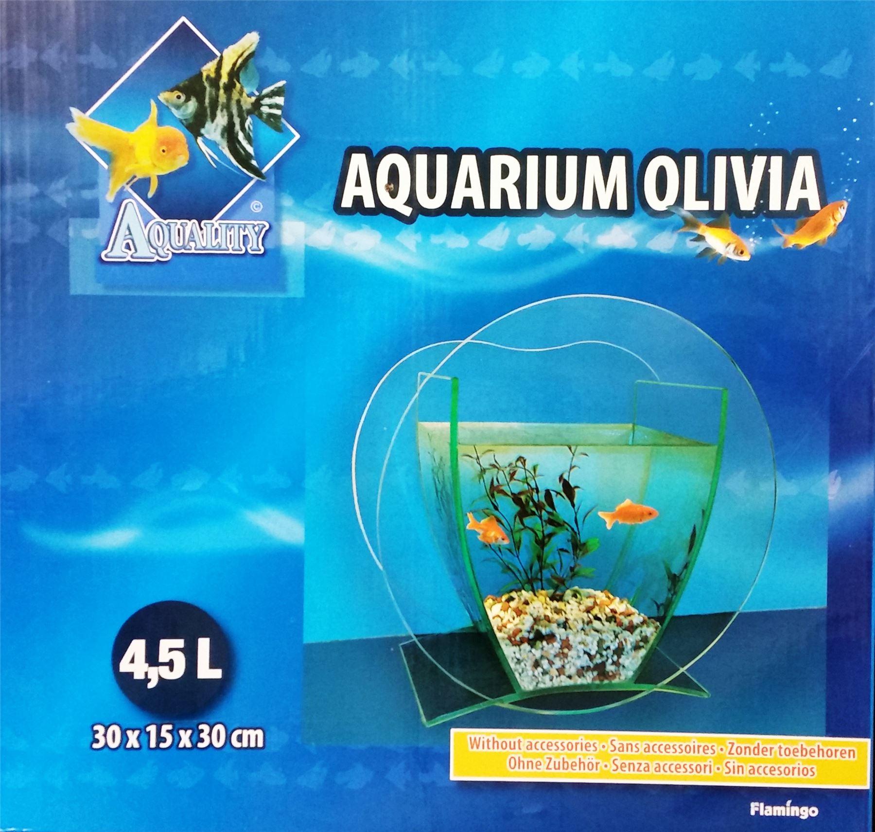 Cabinet aquarium fish tank tropical 60cm 2ft 100l - 4 5l Glass Aquarium Tank Fish Bowl Flamingo Olivia Stylish And Fashionable