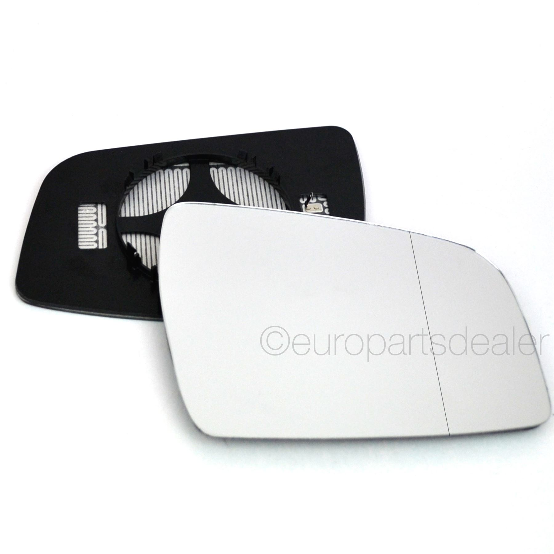Driver Wide Angle Heated Wing Door Mirror Glass For