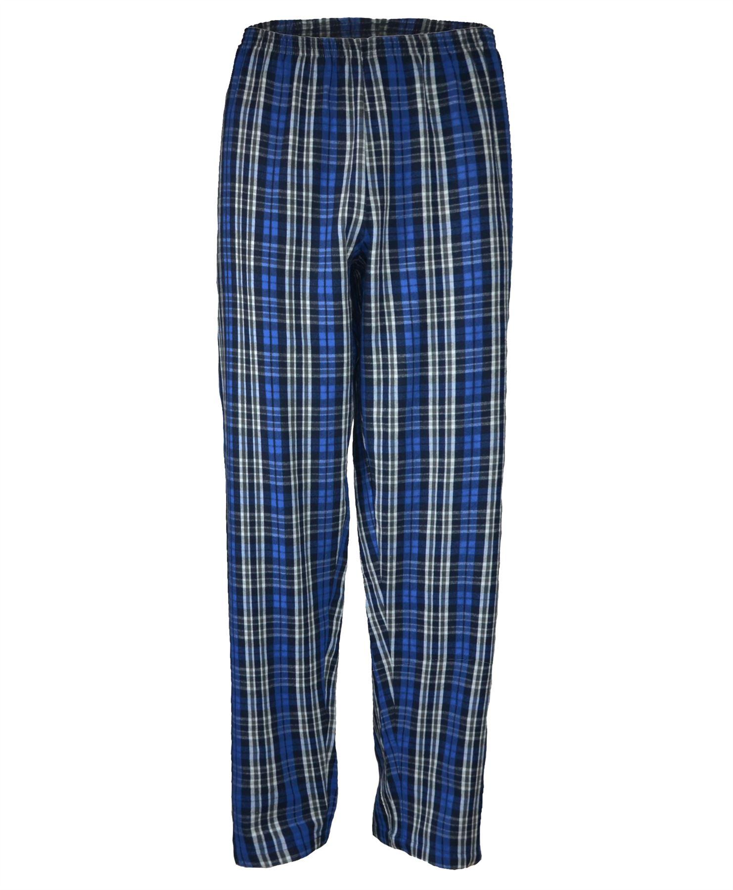 Homme coton carreaux tartan pyjama bottoms pants nightwear for Pantalon homme a carreaux