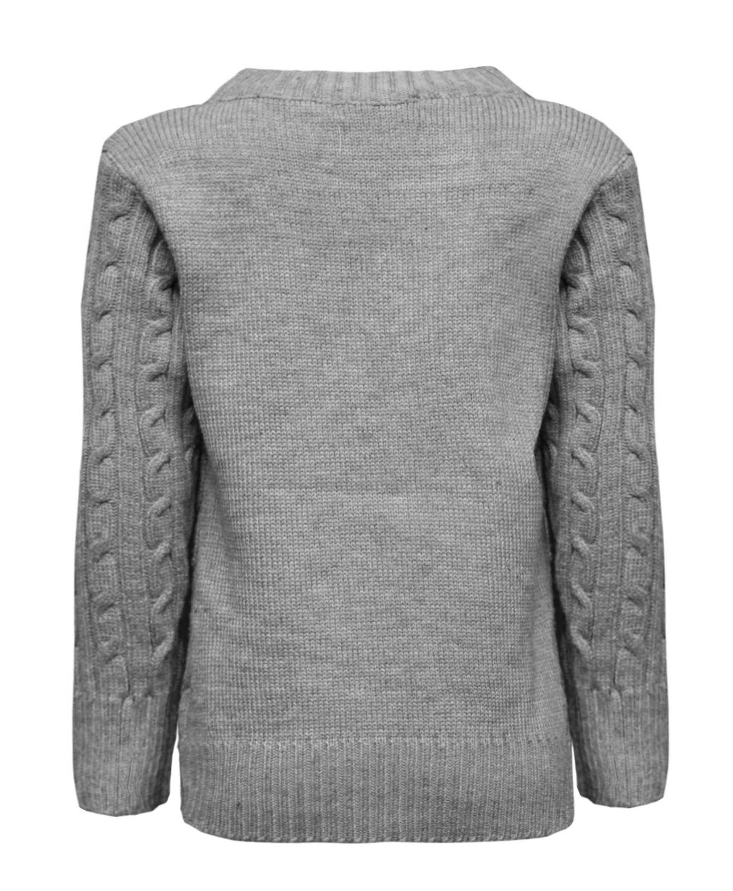 BOYS-CABLE-KNIT-JUMPER-KIDS-PULLOVER-TOP-1-12-YEARS