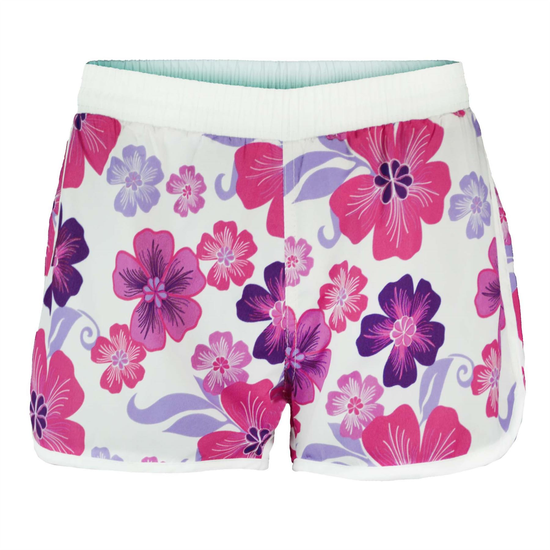 womens summer swimming shorts ladies floral beach surf. Black Bedroom Furniture Sets. Home Design Ideas
