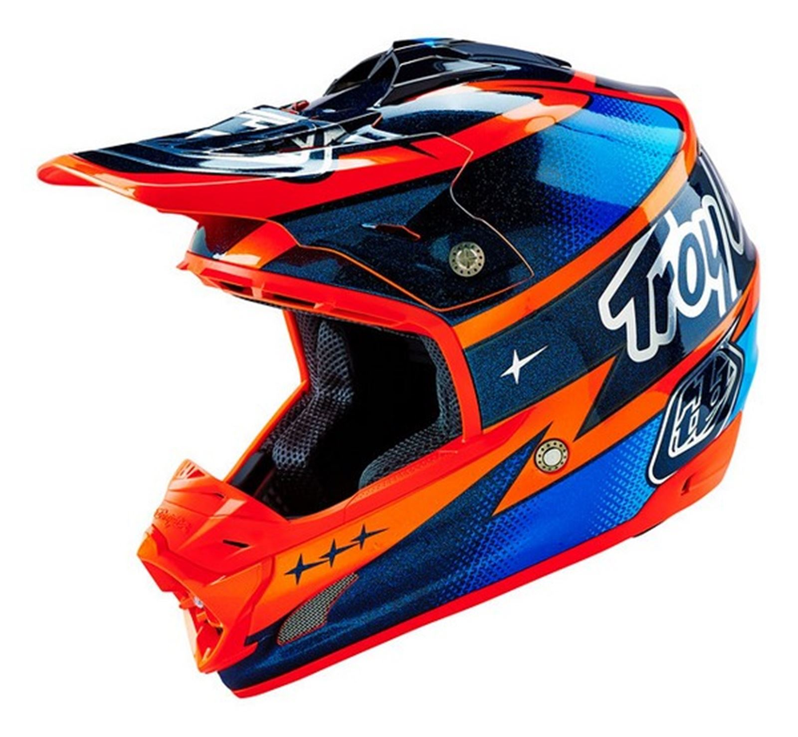 2016 troy lee designs tld se3 motocross helmet team orange. Black Bedroom Furniture Sets. Home Design Ideas