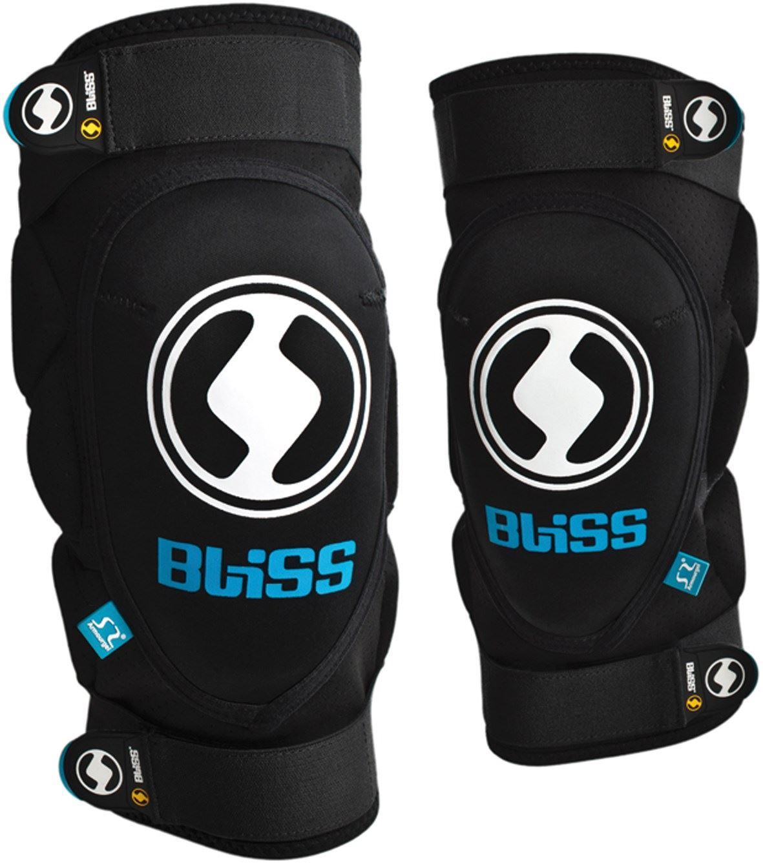 Bliss Protection Arg Knee Pads Kids Black Mountain Bike Mtb Dh