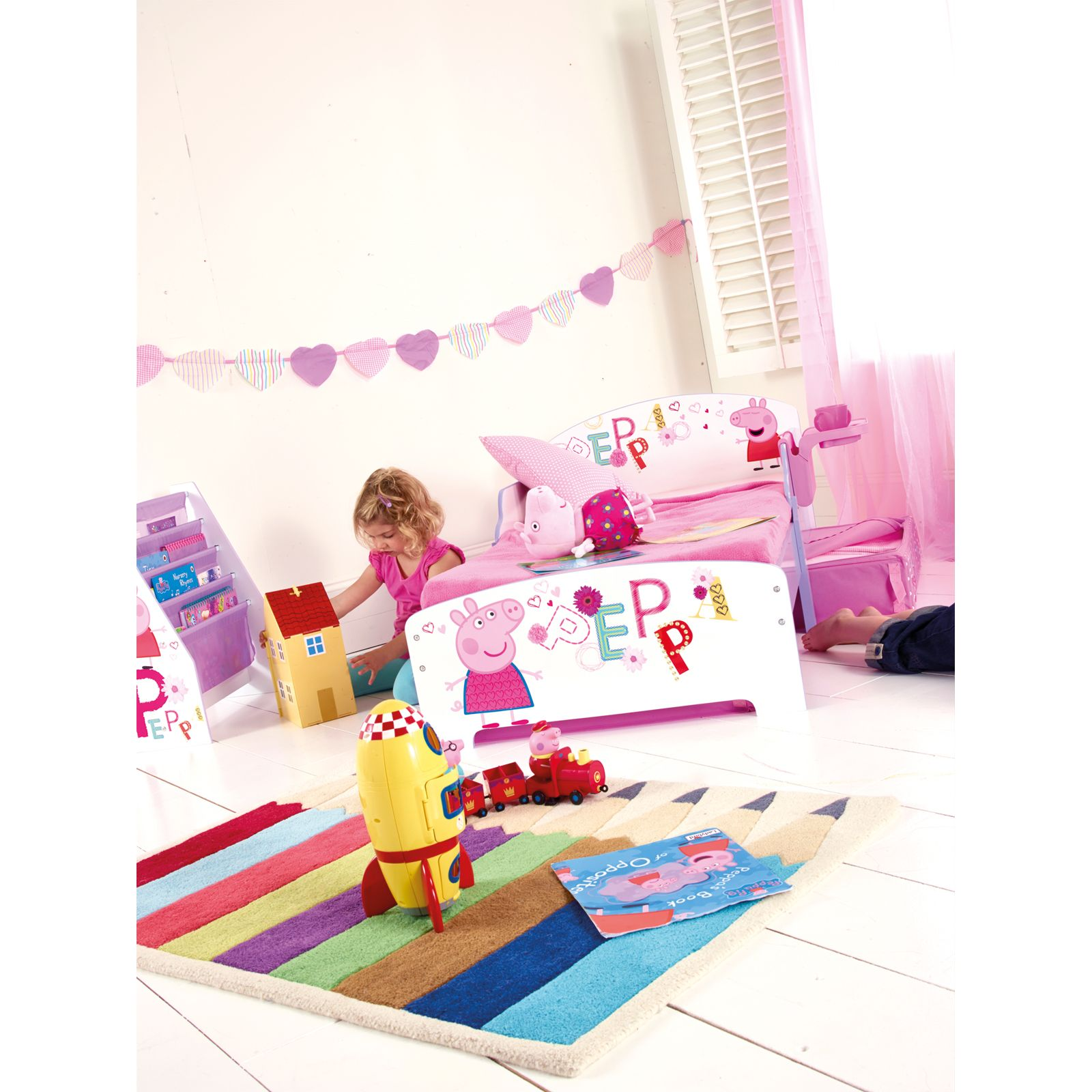 Minnie Mouse Bedroom 3 Drawer Storage Kids Wooden Box Pink: CHARACTER + DISNEY JUNIOR TODDLER BEDS WITH STORAGE
