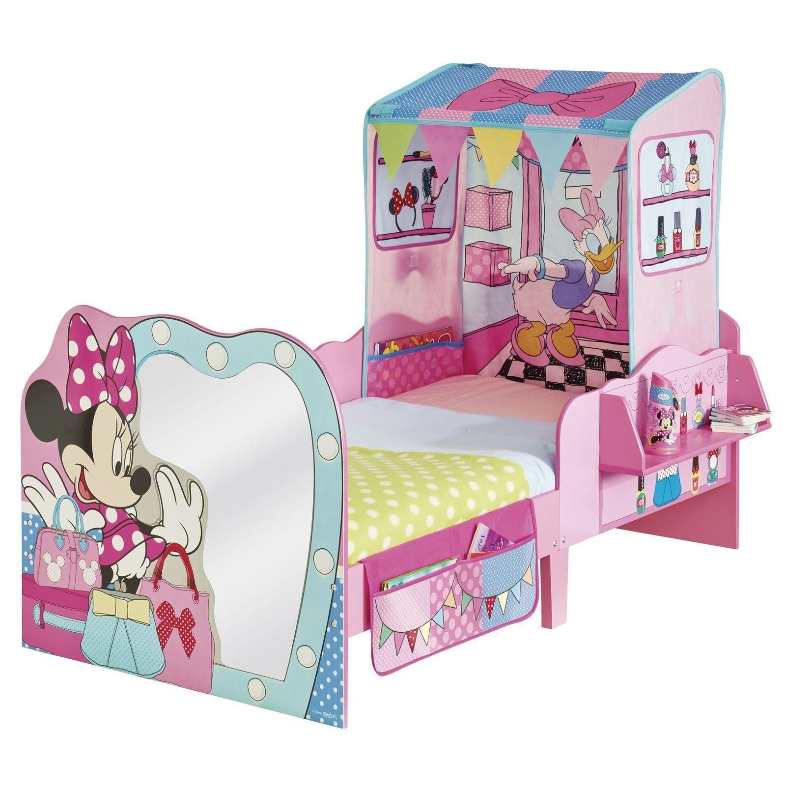 minnie mouse startime mdf junior kleinkind eigenschaft bett ebay. Black Bedroom Furniture Sets. Home Design Ideas
