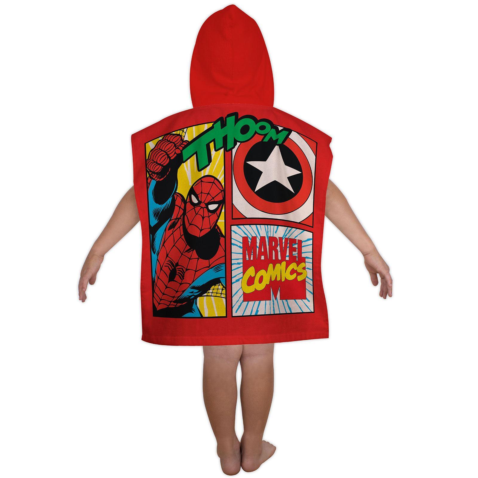 Marvel design 100 cotton beach bath towels superheroes avengers spiderman ebay - Marvel superhero bathroom accessories ...