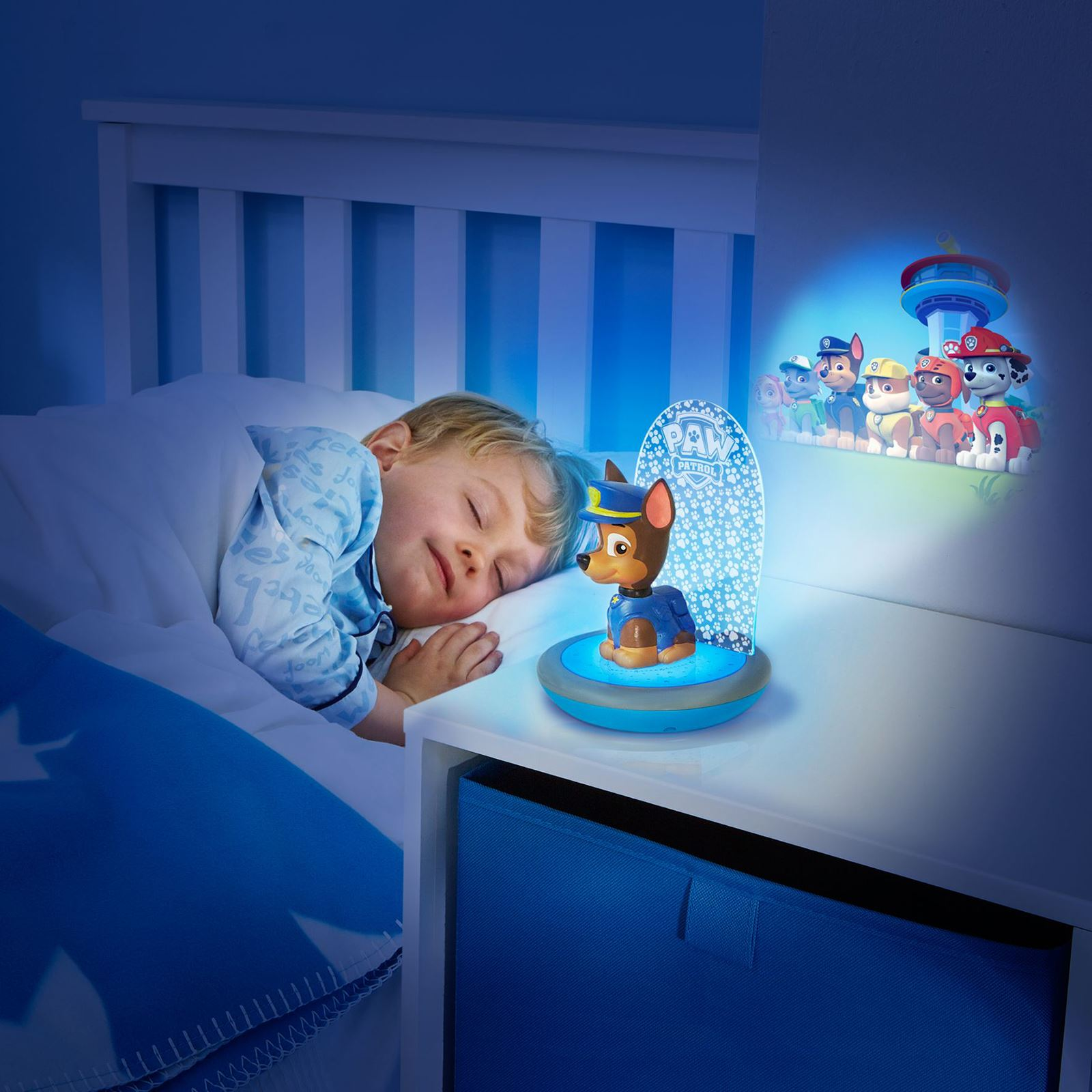PAW PATROL CHASE 3 IN 1 MAGIC GO GLOW NIGHT LIGHT ...