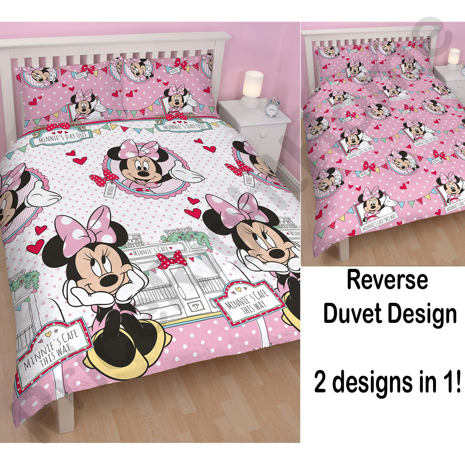 housse de couette double enfant disney et personnage parure de lit enfants ebay. Black Bedroom Furniture Sets. Home Design Ideas