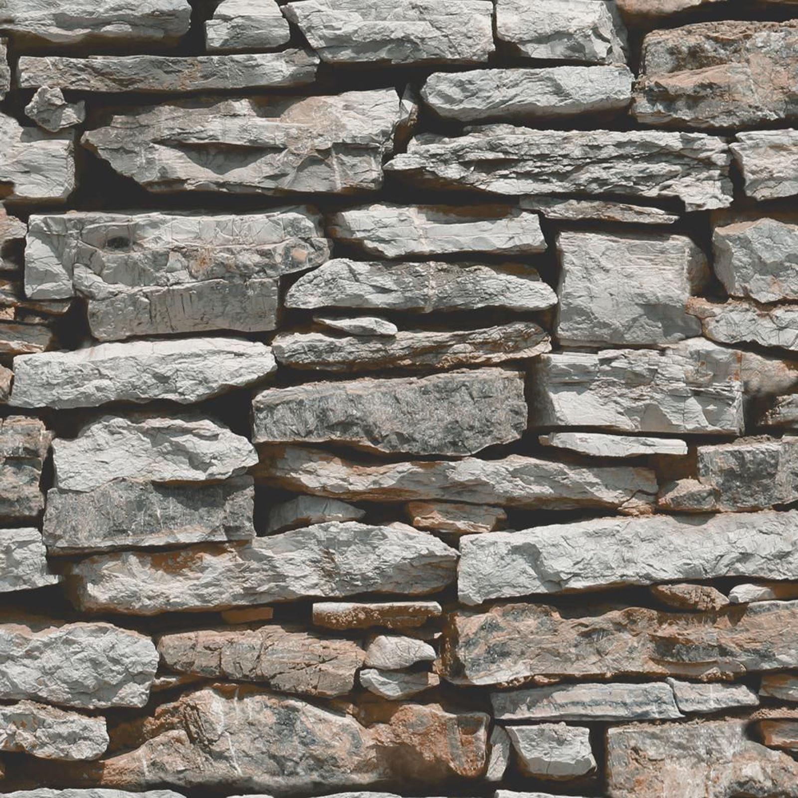 Wall Natural Stone : Moroccan wall natural slate stone wallpaper arthouse vip
