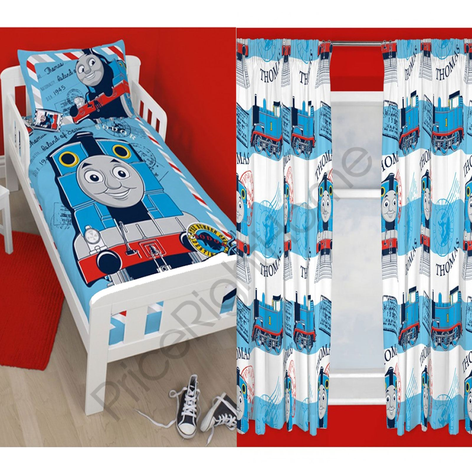 Thomas Adventure Bedding Curtains Range Available In