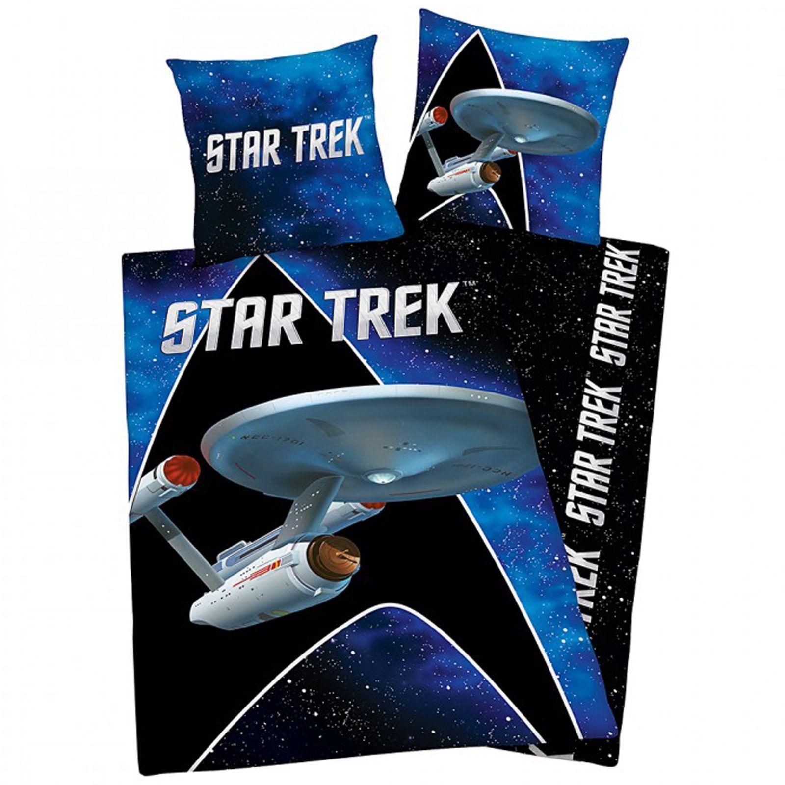 details about star trek single duvet cover set bedding quilt official