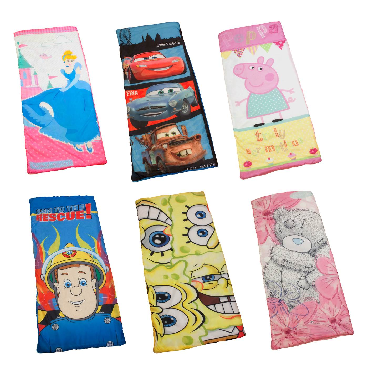 wholesale dealer 7923e 21ab5 Official Disney and Character Sleeping Bags New Camping Kids ...