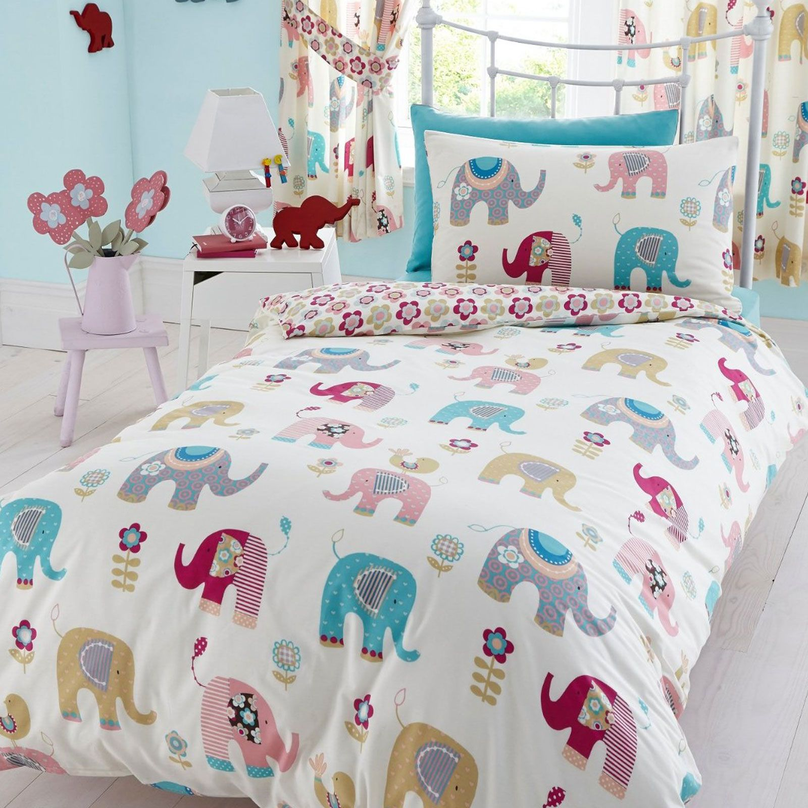 jumbo elephant bedding available in single double. Black Bedroom Furniture Sets. Home Design Ideas