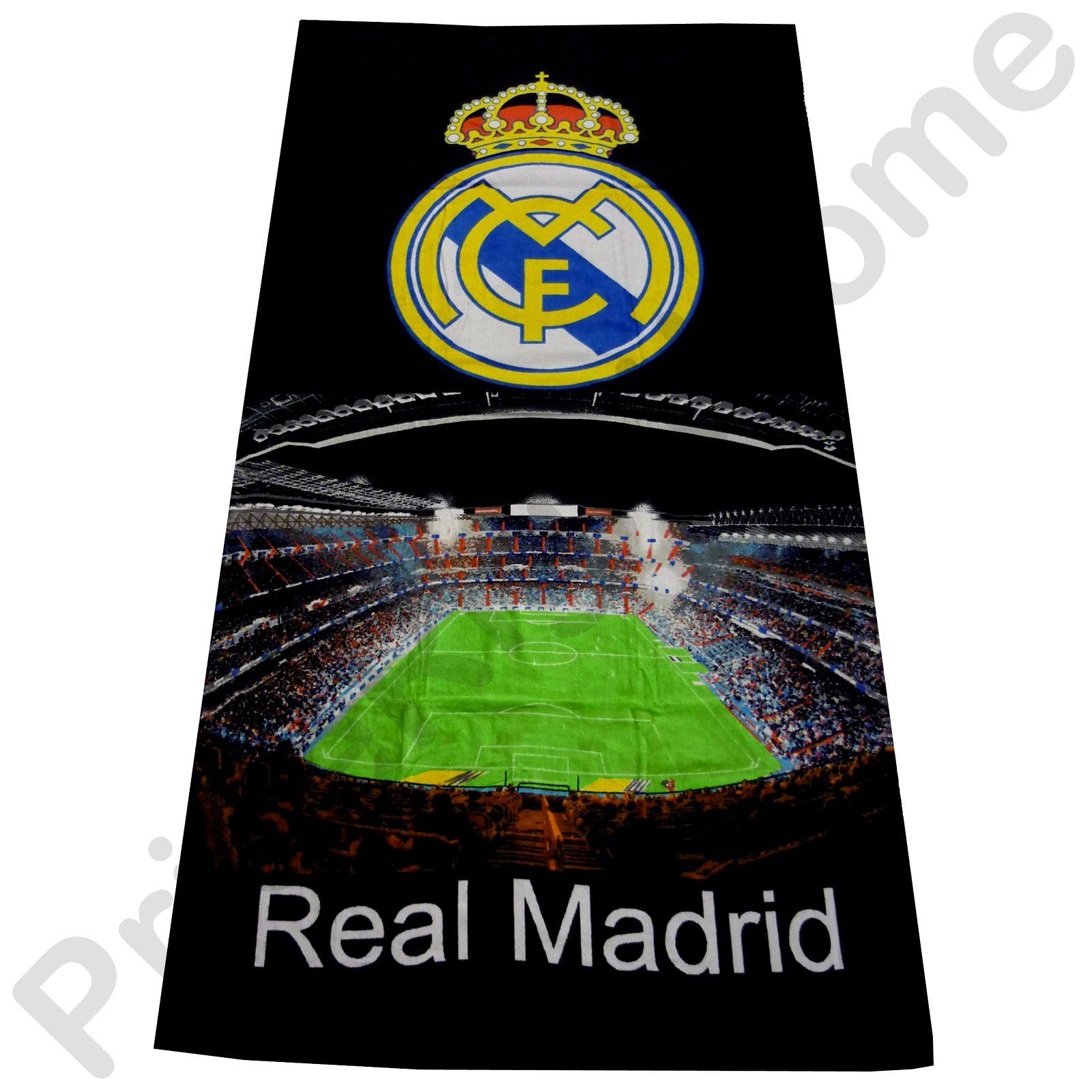Accessoires de chambre football aux couleurs du real madrid for Les chombre a coucher