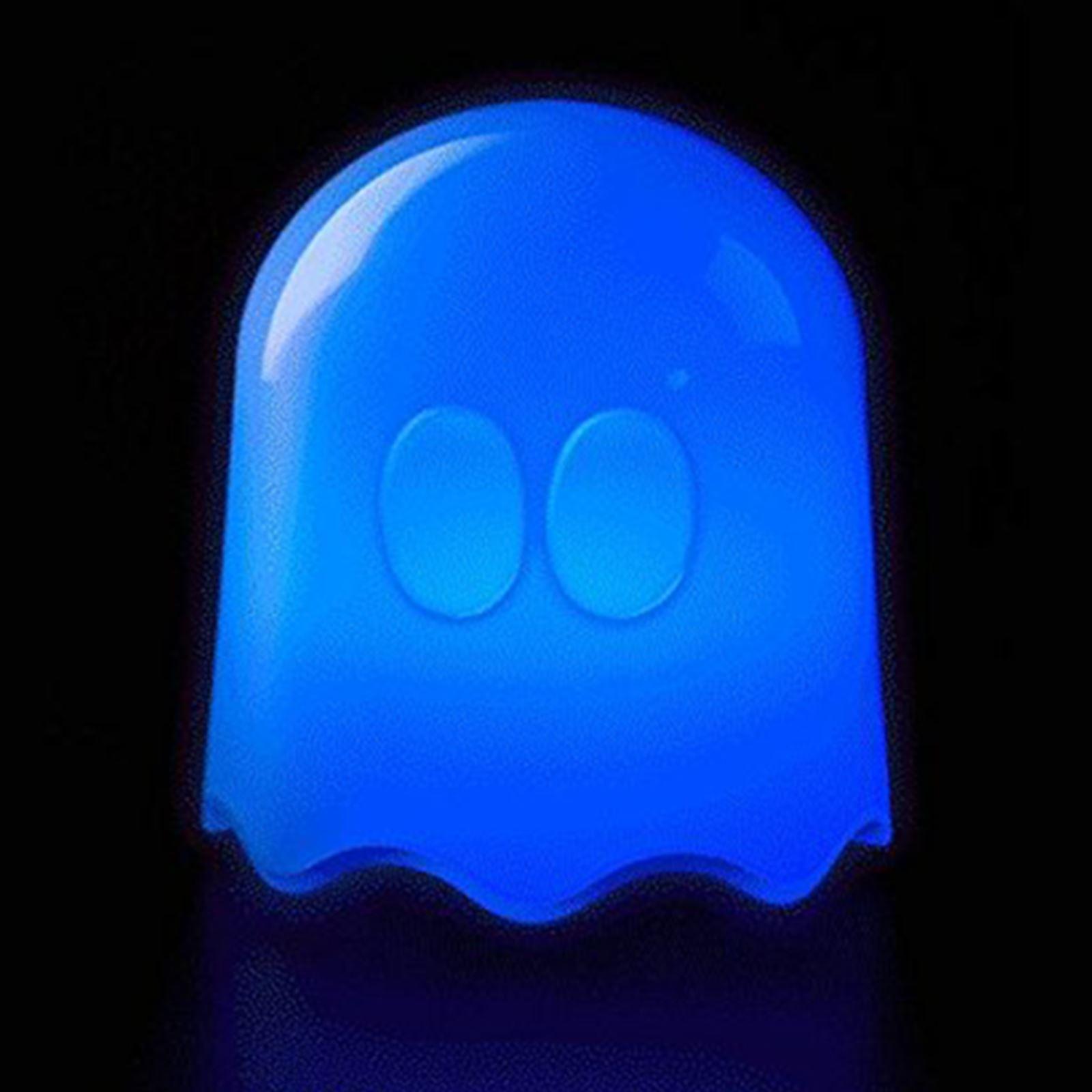 Pac man couleur changeante led fant me lampe t l commande enfants clairage 1 - Lampe led couleur changeante ...