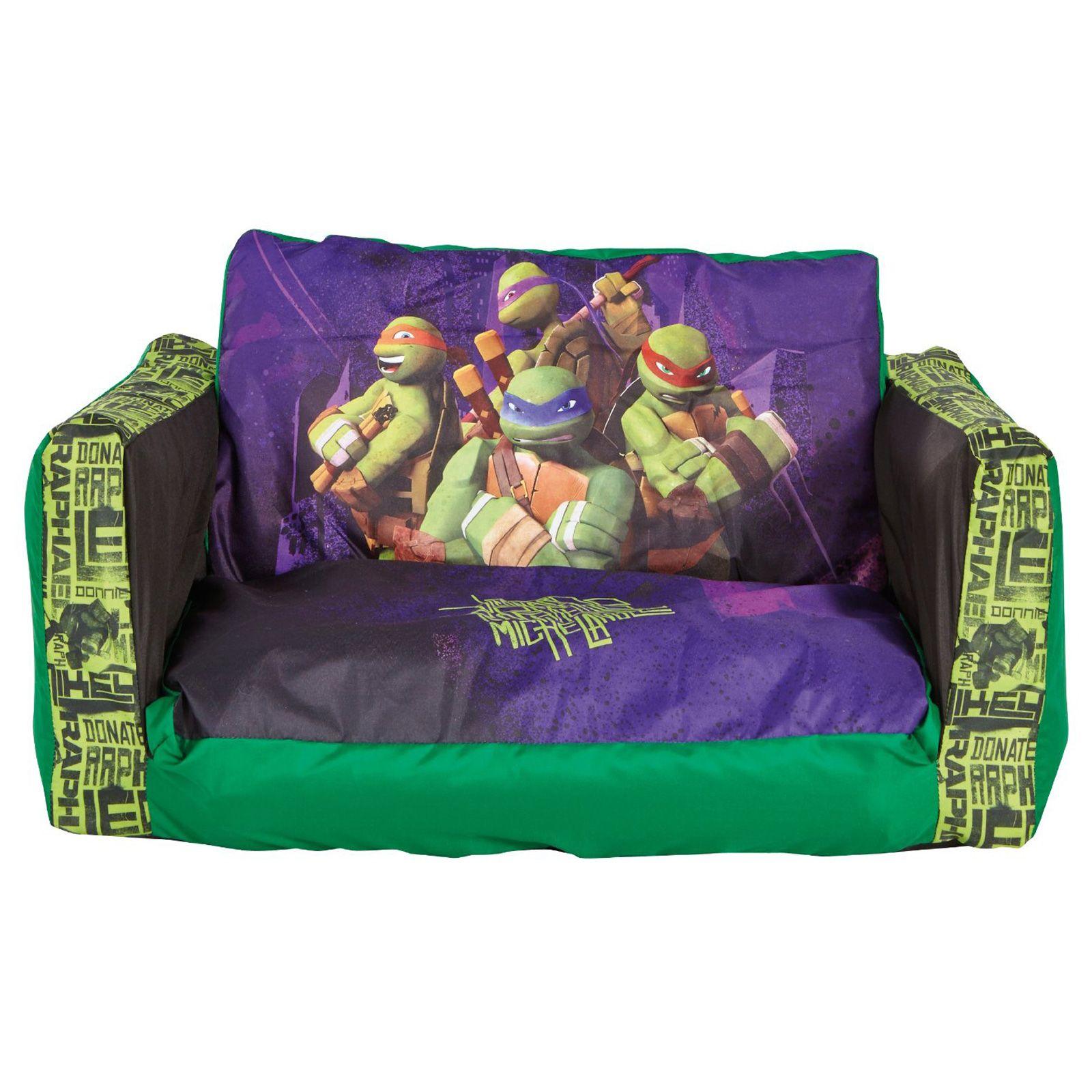 Teenage mutant ninja turtles flip out sofa bed new for Sofa bed 8101