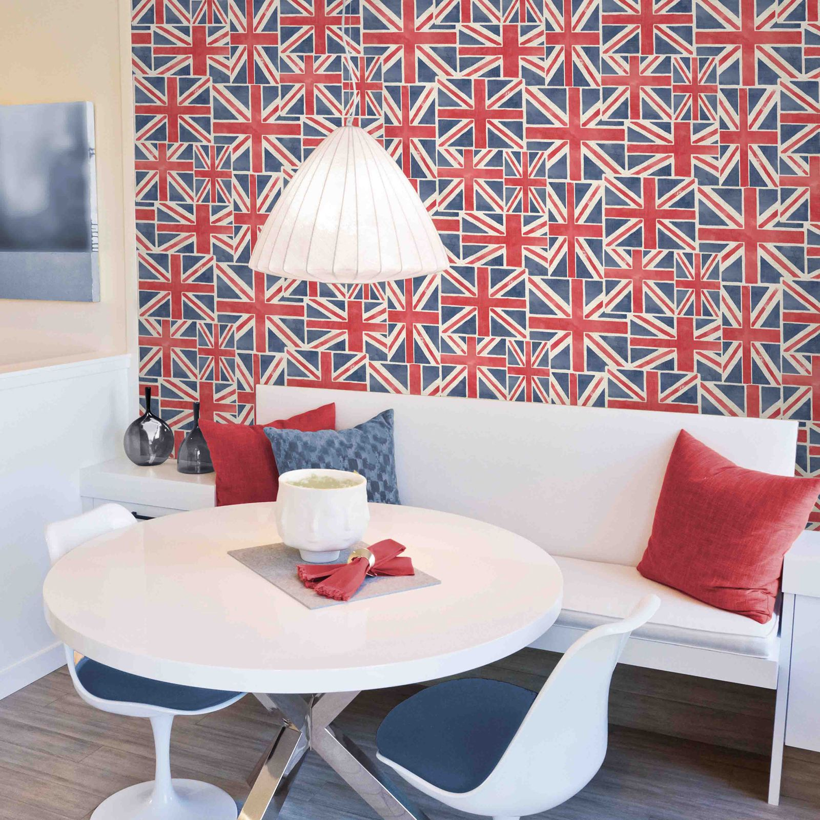 UNION JACK WALLPAPER 10m NEW FEATURE WALL BRITISH FLAG