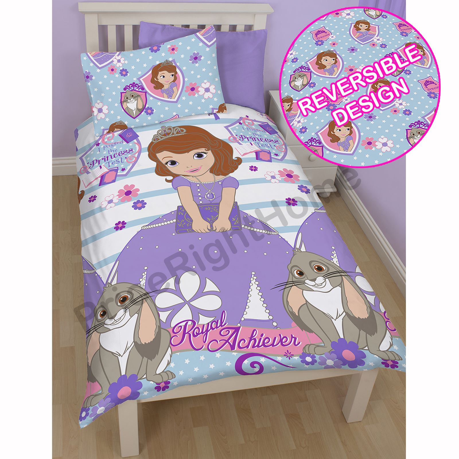 DISNEY SOFIA THE FIRST BEDDING SINGLE DOUBLE JUNIOR