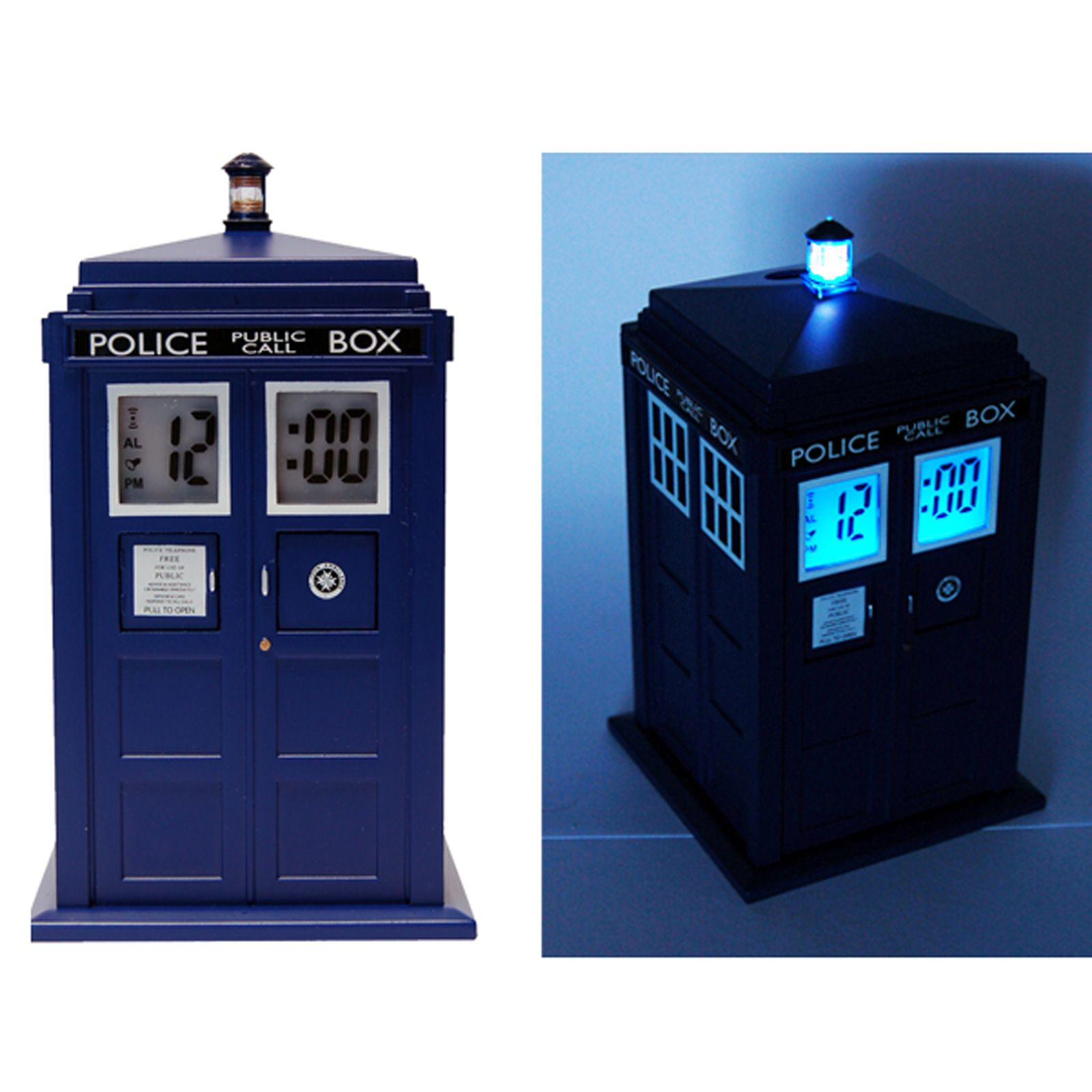 Doctor who tardis projection alarm clock new ebay - Tardis alarm clock ...