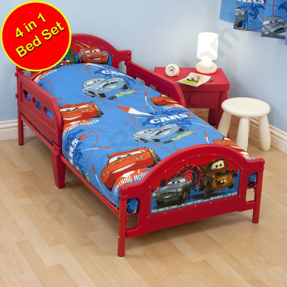 Toddler Bed Bundles Disney Character 4 In 1 Toddler Bedding Bundles Duvet