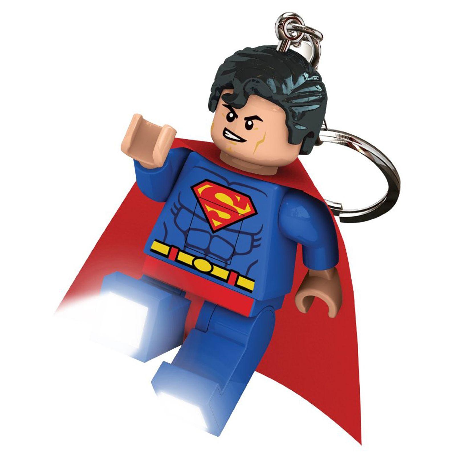 Details about LEGO DC SUPER HEROES SUPERMAN LED LITE KEYRING TORCH NEW ...