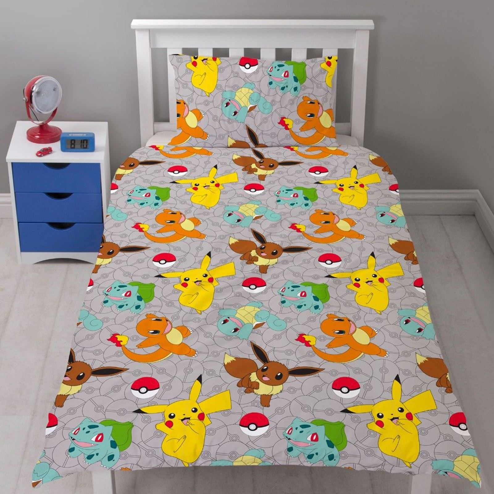 Pokemon Catch Rotary Duvet Cover Set New Kids Bedding Ebay