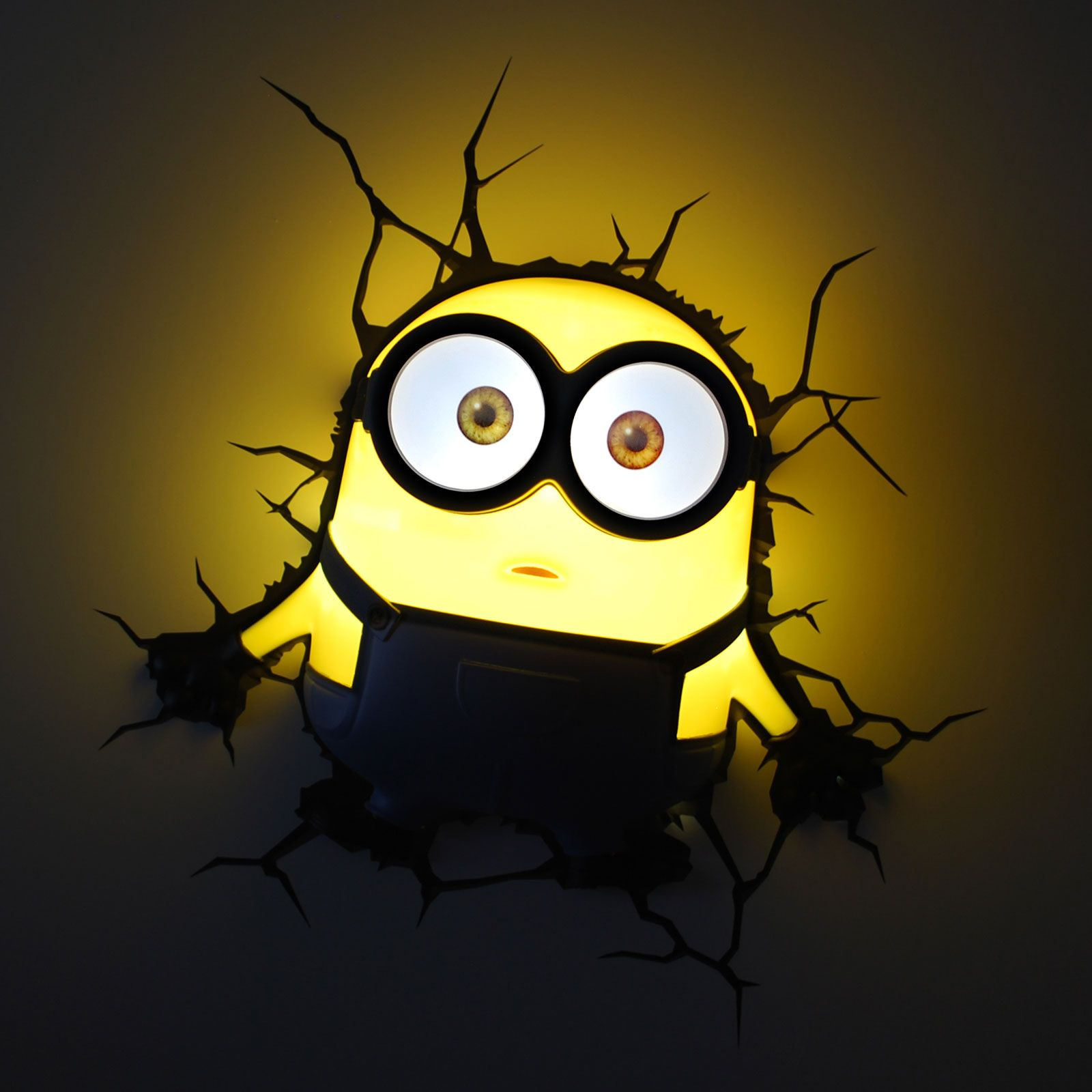 Minions 3d Led Wall Lights New Kids Bedroom Accessory 100