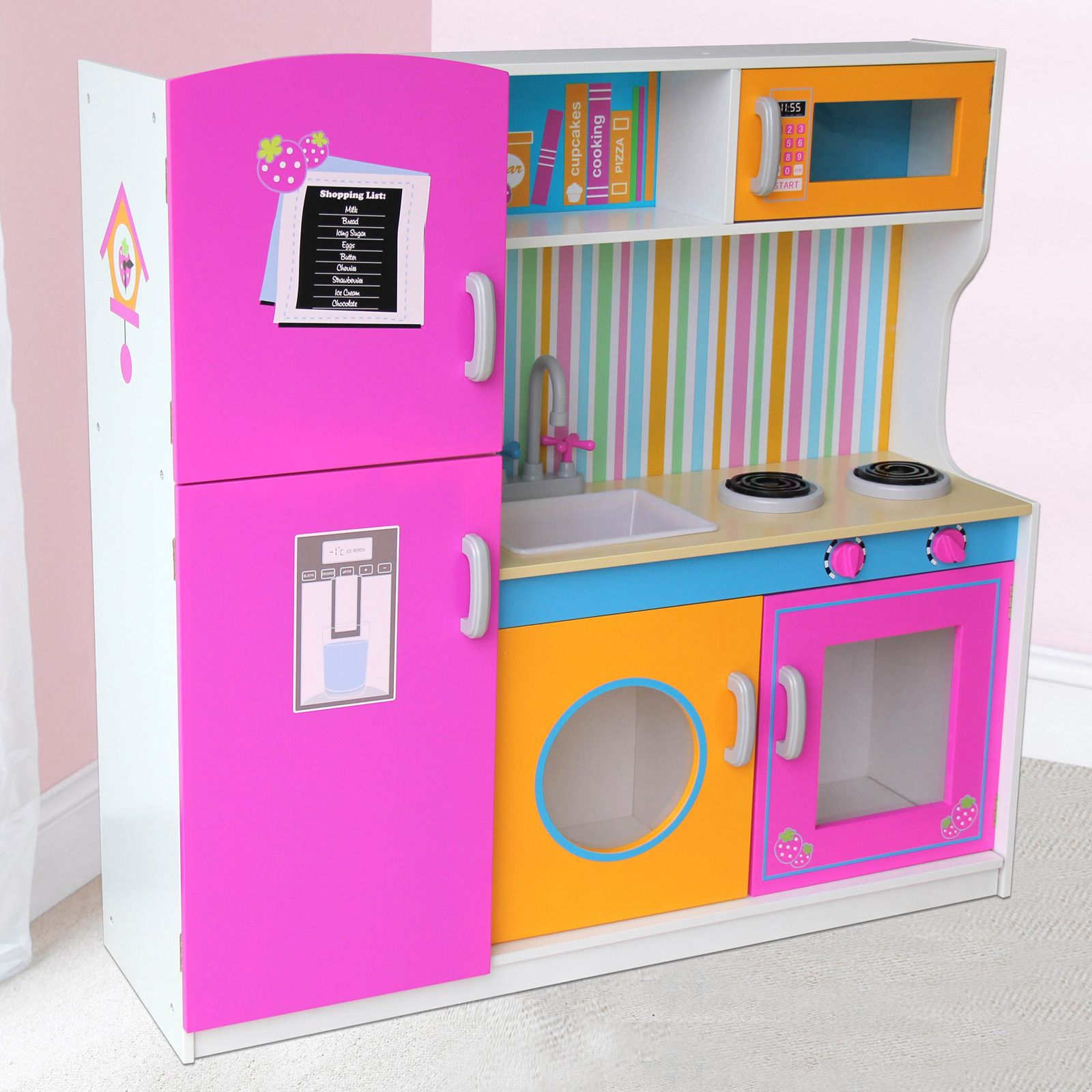 Wooden Kitchen Accessories ~ Leomark wooden kitchen childrens play with
